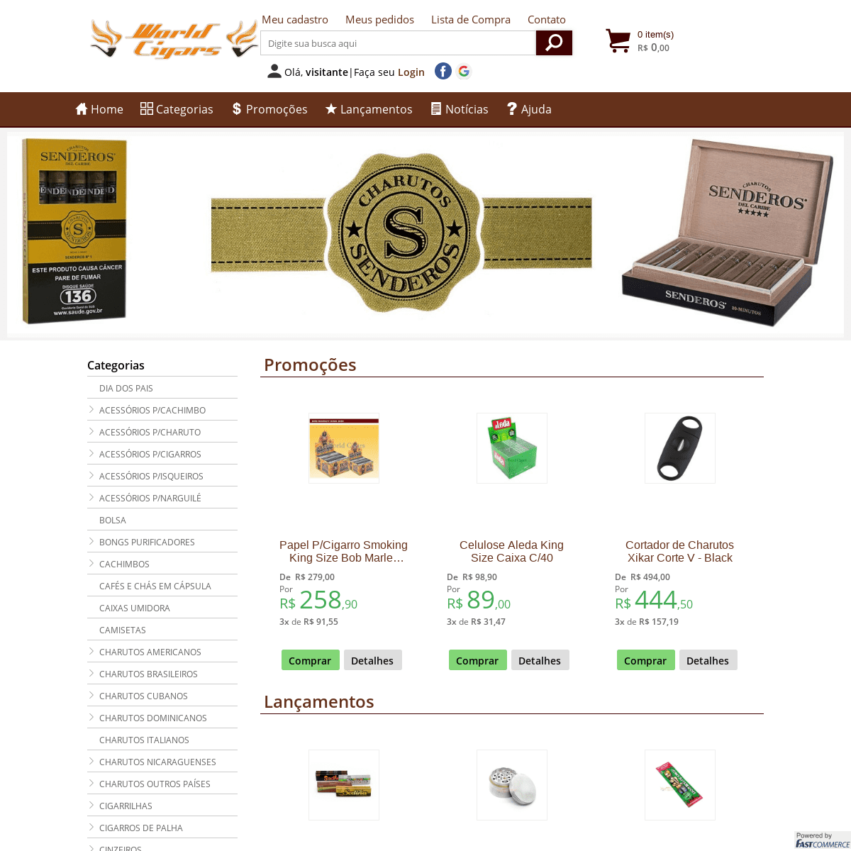 ArchiveBay.com - worldcigars.com.br - Tabacaria Virtual SP - World Cigars Tabacaria e Presentes