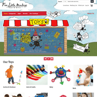Home page - Toys & Gifts