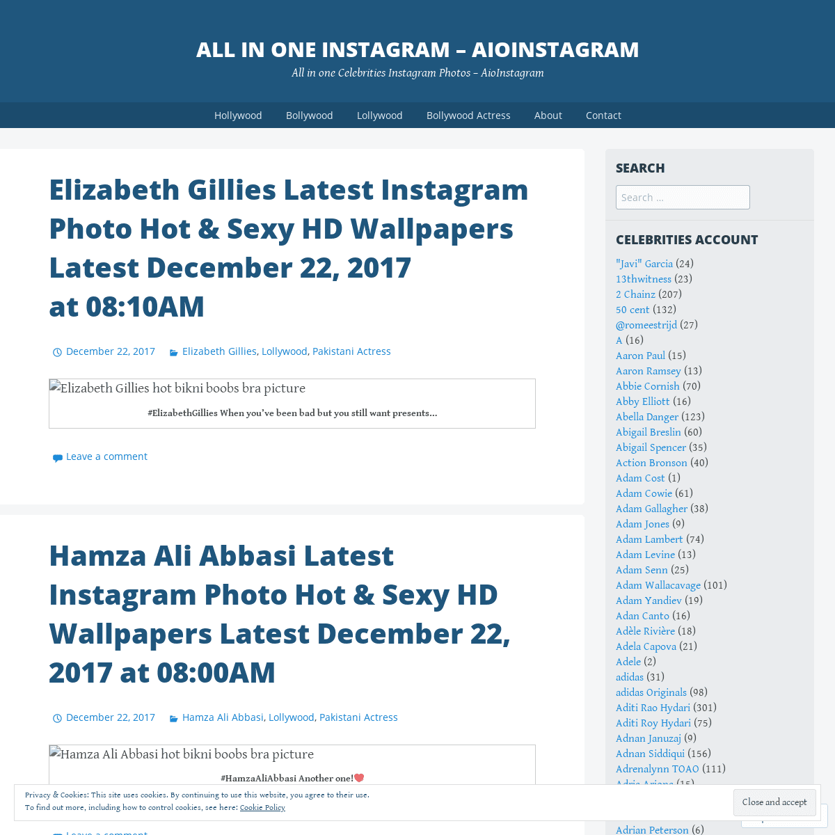 ALL IN ONE INSTAGRAM - AioInstagram - All in one Celebrities Instagram Photos – AioInstagram