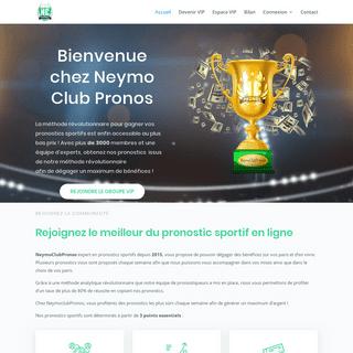 Pronos et paris sportifs - NeymoClubPronos, expert en paris sportifs