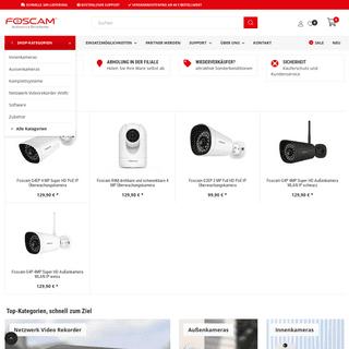 ArchiveBay.com - foscam.de - Foscam Shop - Ihr Spezialist für IP Kamera