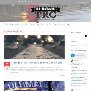 Blog - The Run Commuter