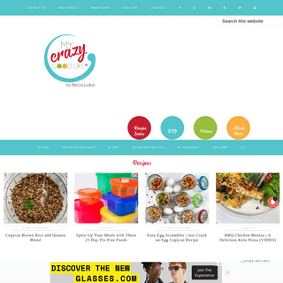 My Crazy Good Life - Healthy Living, 21 Day Fix Recipes, Weight Watchers Recipes