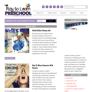 Play to Learn - A delightful preschool experience