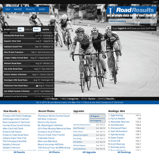road-results.com - we wrangle data so you don't have to