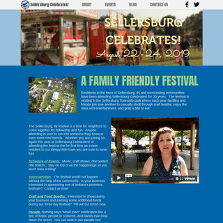 Indiana's Sellersburg Celebrates! festival held annually in August