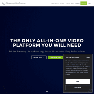 Streaming Video Hosting and Live Video Streaming Services