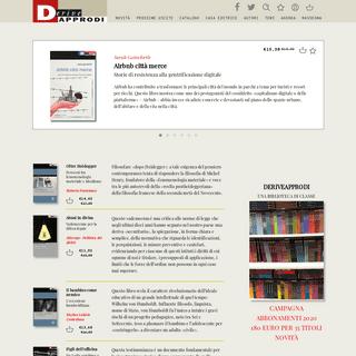 DeriveApprodi – Casa Editrice