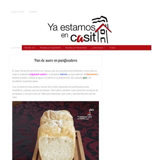 ArchiveBay.com - yaestamosencasita.com - Ya Estamos En Casita - Con buena música, sabe mejor