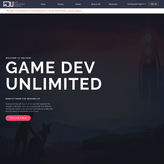 Home - Game Dev Unlimited
