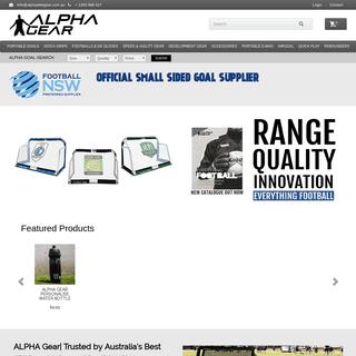 ArchiveBay.com - alphaelitegear.com.au - Soccer Training Equipment Australia, Soccer Shop - Alpha Elite Gear