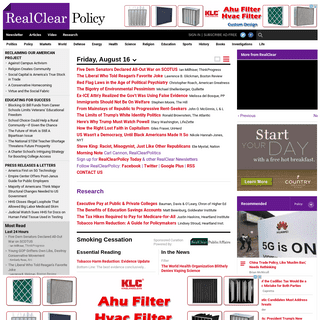 RealClearPolicy - Opinion, News, Analysis, Video and Polls