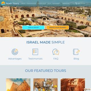 Israel Tours - Israel Private Tours - Israel Tour Operator - Noah Tours