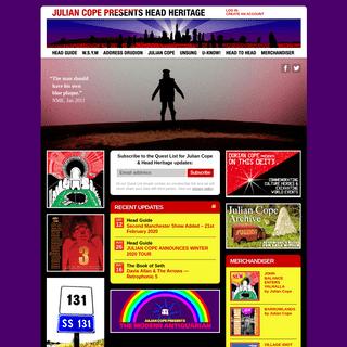 ArchiveBay.com - headheritage.co.uk - Julian Cope presents Head Heritage
