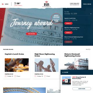 BB Riverboats - Cincinnati's Official Riverboat Cruises