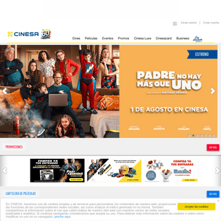 CINES CINESA · Compra de entradas, cartelera de películas y promociones
