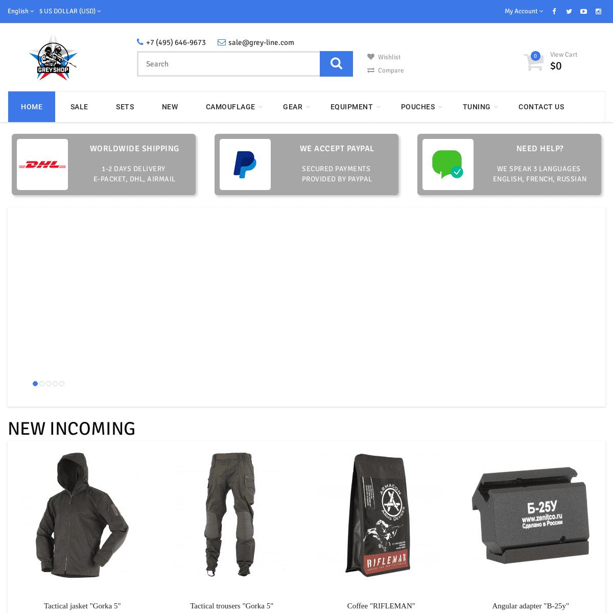 Grey Shop - Motherland Supply