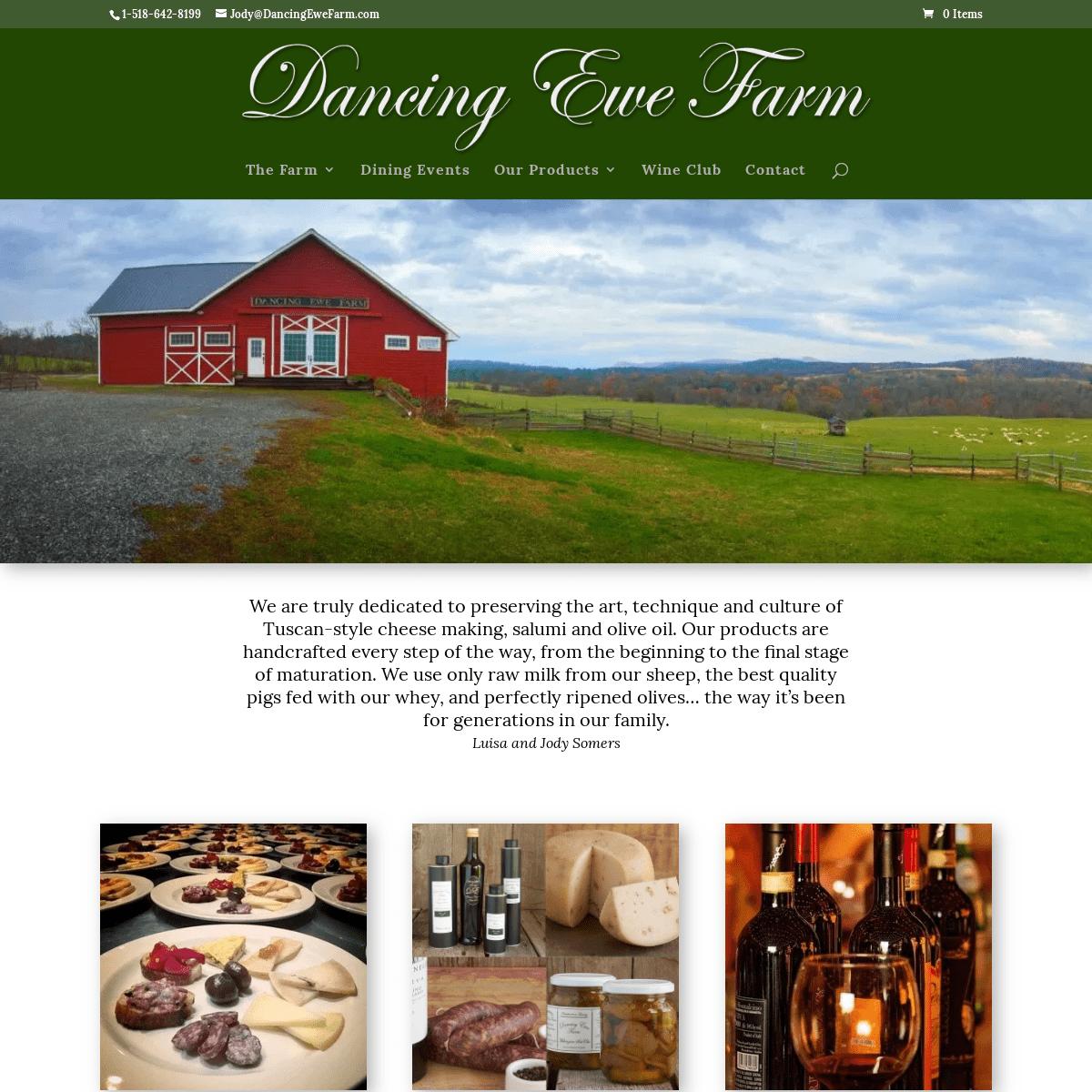 Dancing Ewe Farm – Farm to Table Dining
