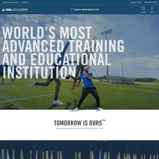 Sports Academy- Athletic & Education Performance - IMG Academy