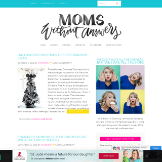 Houston Mommy and Lifestyle Blogger - Moms Without Answers - We don't have all the answers, but we have all the fun