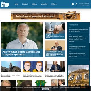 Pécsi STOP - Főoldal