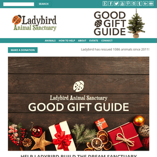 Ladybird Animal Sanctuary - Ladybird Animal Sanctuary - Welcome