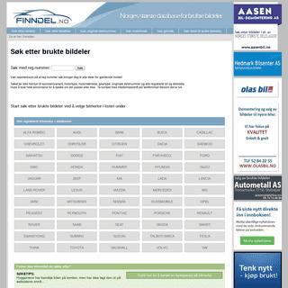 Brukte bildeler til alle bilmerker og biltyper - finndel.no.