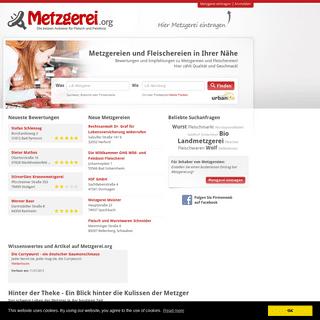 ArchiveBay.com - metzgerei.org - Metzgereien, Fleischereien, Partyservice und Catering mit Bewertungen