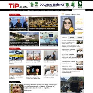 TIP.ba - Internet Vijesnik – TIP – Najnovije vijesti TK, BiH, Regija i Svijet
