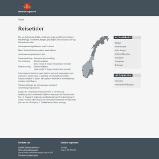 ArchiveBay.com - reisetider.no - Reisetider - Statens vegvesen