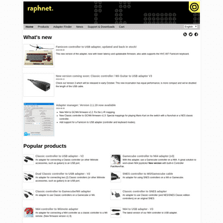 raphnet technologies - Home