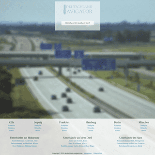 ArchiveBay.com - deutschland-navigator.de - Deutschland-Navigator - Das Städteportal für Deutschland