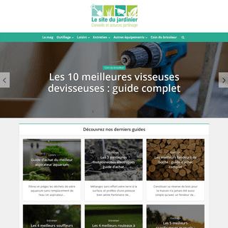 Le site du jardinier - magazine conseils, astuces et guide d'achat