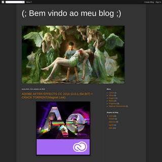 (; Bem vindo ao meu blog ;)