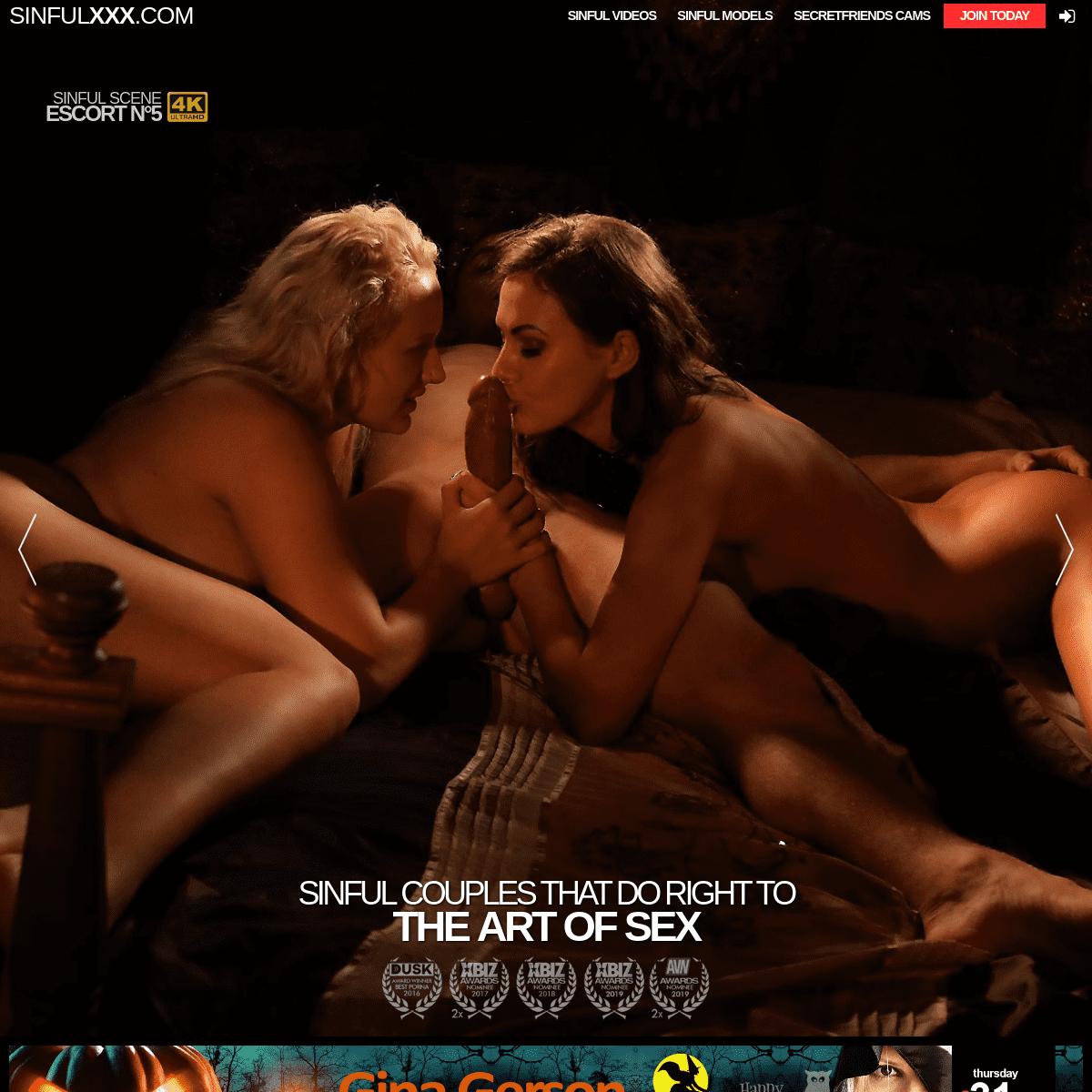 SinfulXXX.com Female and Couple Friendly Porn!