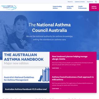 National Asthma Council Australia - National Asthma Council Australia