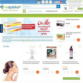 Apteka internetowa online- suplementy, kosmetyki, leki, witaminy - Wapteka.pl
