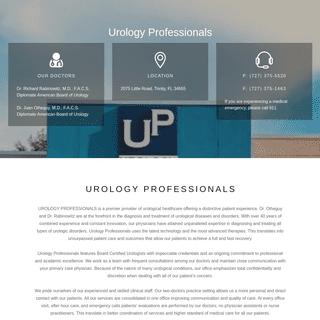 Urology Professionals - Trinity Florida