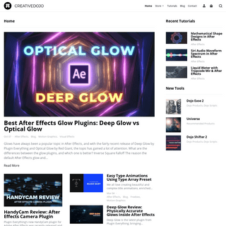Creative Dojo - Design Tools and Tutorials for After Effects & Cinema 4D