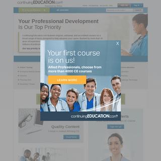 ArchiveBay.com - continuingeducation.com - Health Continuing Education, Pharmacy CE, Physical Therapy Continuing Education - ContinuingEducation.com