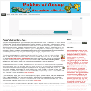 ArchiveBay.com - fablesofaesop.com - Aesop's Fables Home Page - Fables of Aesop