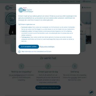ArchiveBay.com - euclaim.nl - Vergoeding bij vluchtvertraging- - EUclaim helpt u verder!