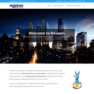 Nexeon- Managed Hosting & Infrastructure-as-a-Service Solutions (IaaS)