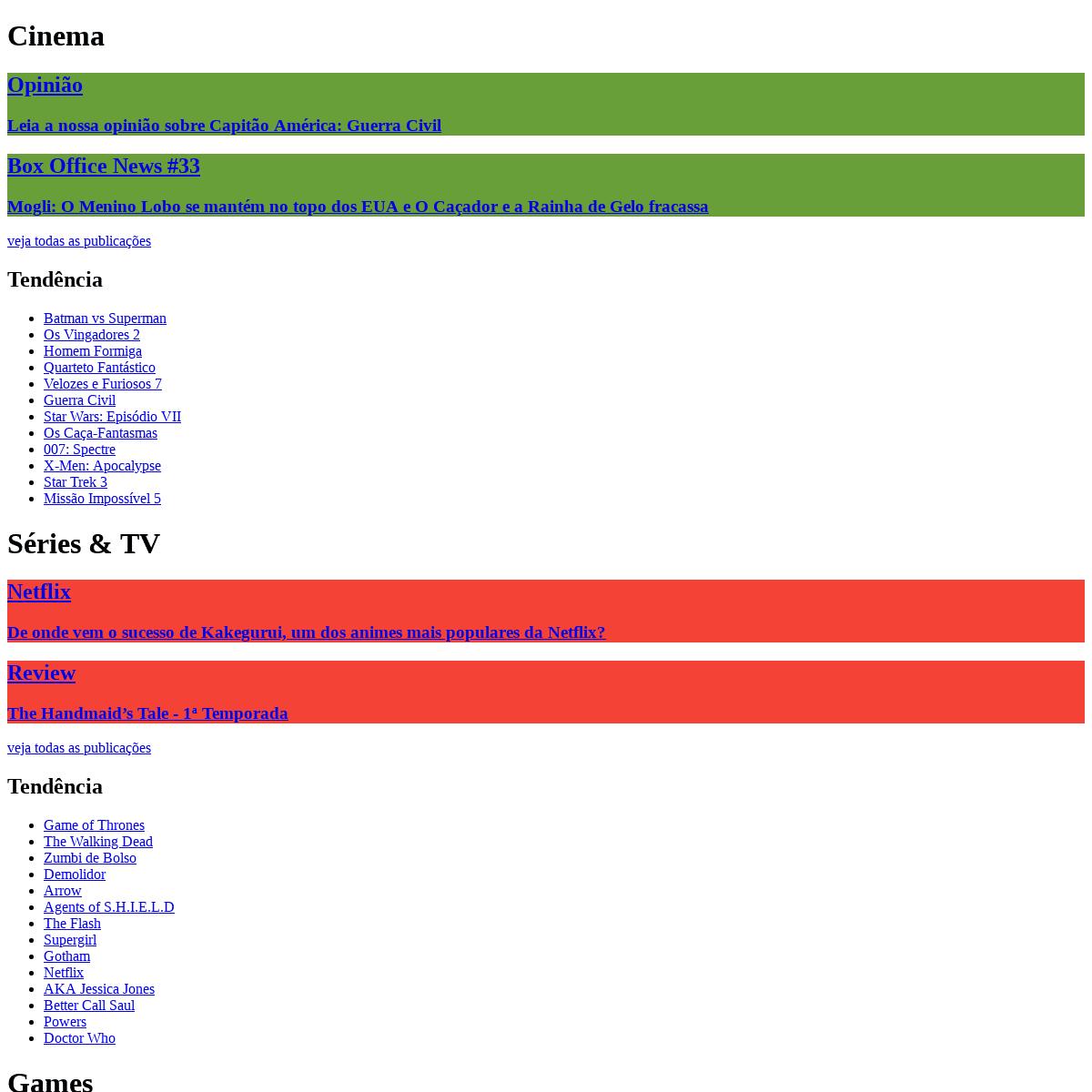 ArchiveBay.com - supernovo.net - Supernovo.net - Cinema, Games, Quadrinhos, Livros, Mangás, Séries de TV e Podcasts Nerds!