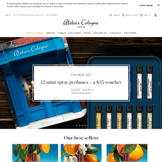 Atelier Cologne - Creator of the Cologne Absolue