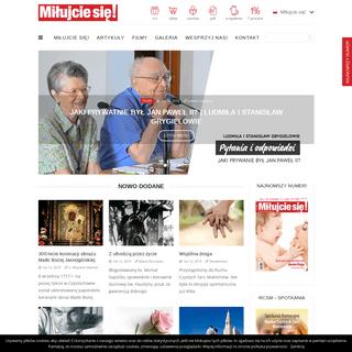 ArchiveBay.com - milujciesie.org.pl - Miłujcie się! katolickie czasopismo ewangelizacyjne