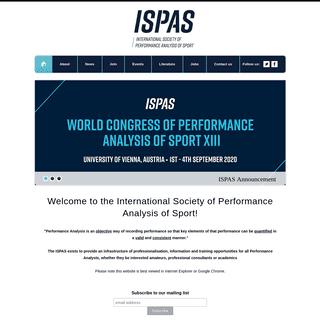 ISPAS - Home