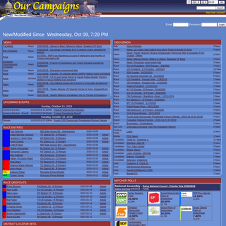 Our Campaigns Home Page