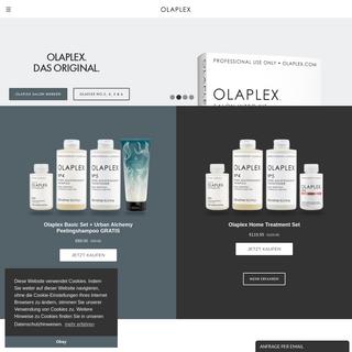 Olaplex - das Original - Webseite- Deutschland, Österreich, Schweiz
