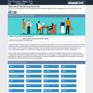 The Nursing Home Site - Nursing Home Reviews and Ratings
